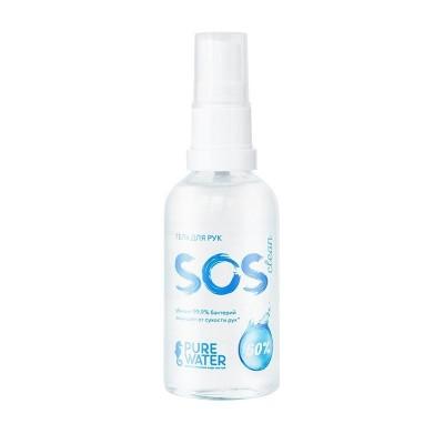 Гель для рук SOS Clean 60% спирта, 50 мл